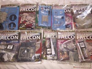 Build the star wars Deagostini Millennium Falcon  back issues 1 - 100 + 100a