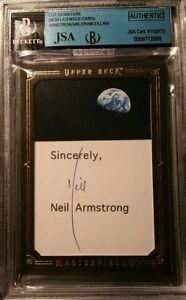 neil armstrong autograph jsa certified - photo #8