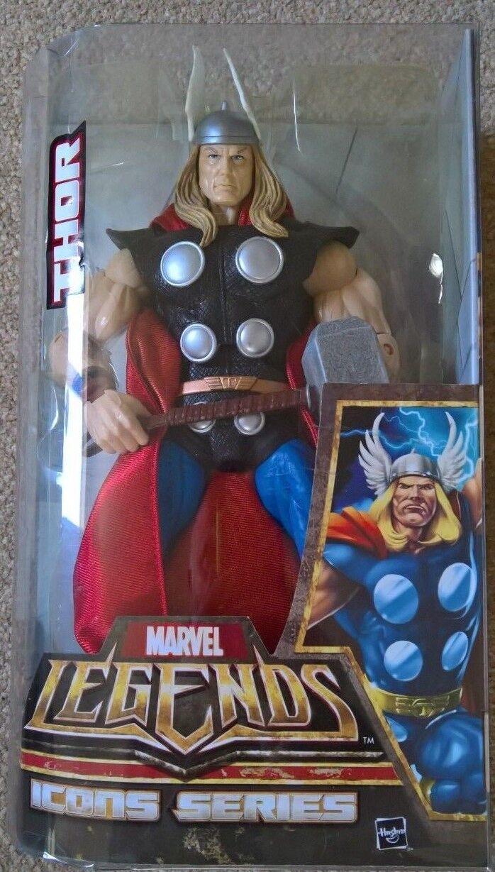 Marvel Hasbro icone possente THOR classico costume dei fumetti 12 Pollici Figura