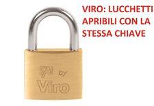 LUCCHETTO FAI VIRO MARINO RETTANGOLARE 575.7 MM.50 ARCO NORMALE INOX SICUREZZA