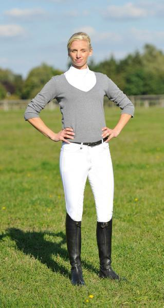 BUSSE Showing breeches  Baccarat   Ladies  NEW   Sz. 26 L Crystals