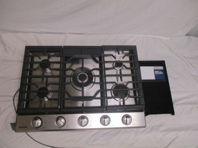 Samsung Na30k6550ts 30 Stainless 5 Burner Gas Cooktop Kitchen