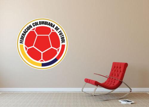 Colombia National Soccer Team Logo Vinyl Decal Car Window Wall Cornhole SA262