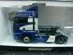Wow Extremely Rare Man Tga 18.460lx Tracteur 2000 BMW Williams F1 1:43 Minichamps