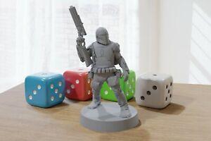 Boba Fett - Star Wars Legion 35mm Miniature for Tabletop RPG