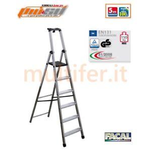 Scala-alluminio-casalinga-e-professionale-facal-piu-039-su-altezze-a-scelta