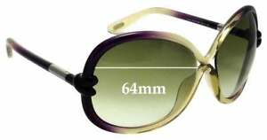 SFX Replacement Sunglass Lenses fits Tom Ford Peter TF142 59mm Wide