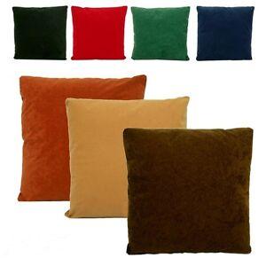 Thermal Plain Cushion Cover Size 18 Quot X18 Quot 9 Colors Black