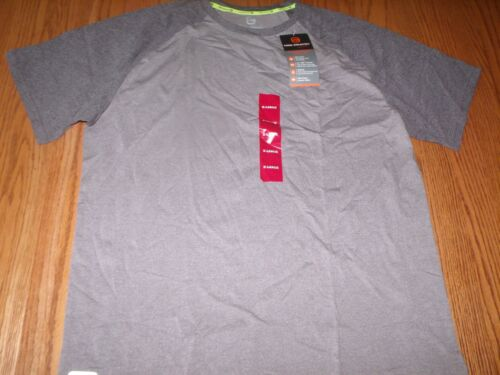 New Mens Free Country Everday Heather Pocket T-Shirt Shirt Gray Heather M L XL