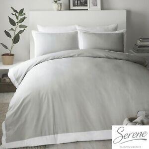 Serene-MADISON-Dove-Grey-with-White-Border-Easy-Care-Duvet-Cover-Set