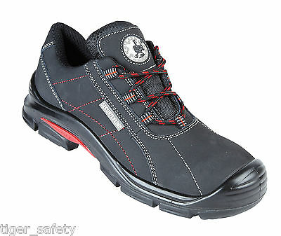 Security Line Asio 4209 S3 Black Metal Free Composite Toe Cap Safety Trainers