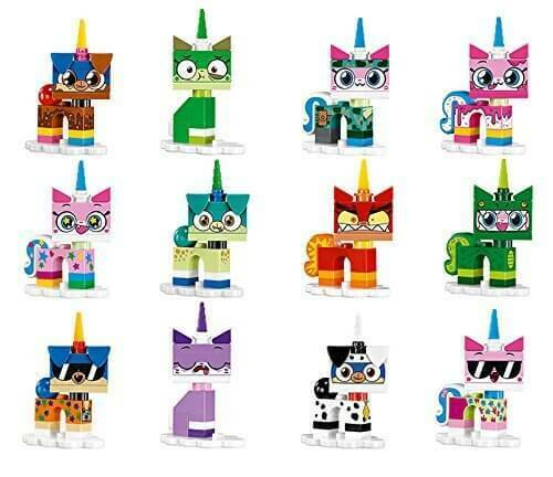 LEGO Unikitty Series 1 FULL COMPLETE SET OF 12x DIFFERENT Collectable Figures...