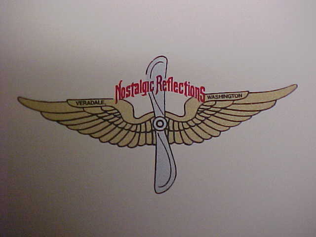 Nostalgic Reflections Water Slide Decal Propeller & Other Items