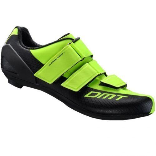 Schuhe CICLISMO DMT R6 colore NERO-GIALLO FLUO taglia 43