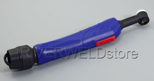200A Water-Cooled SR-20F WP-20F TIG Welding Torch Head Body Flexible Euro Style