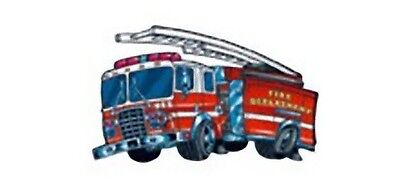 12 Fire Engine Truck Temporary Tattoos Birthday Party Favors