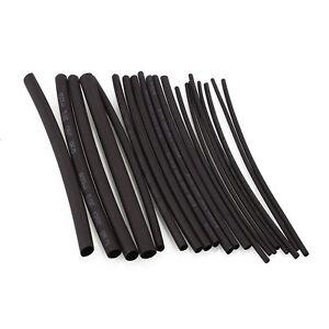 20Pcs-2XH-Heat-Shrink-Wire-Wrap-Sleeve-Tubing-125-Cable-Set-Kits-Black