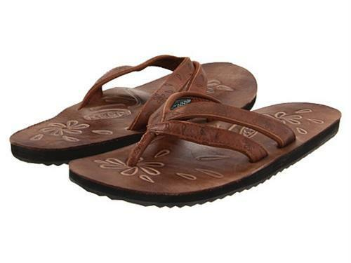 3d4830da33f5 Keen Florence II Flip Flop Casual Leather Sandals Friar Brown 1004659 Women