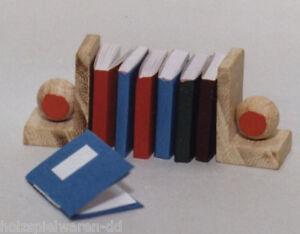 Liebe 46046 miniature - FAIT MAIN Livres 6 Pièces 1:12 pour maison de poupée