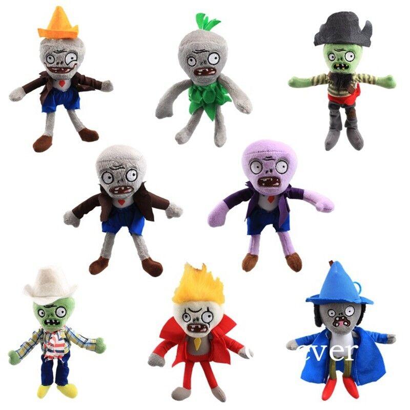 new Plants Vs Zombies Lot 11pcs Plush Toy Split Bean 6/'/' Soft Stuffed Doll Kids