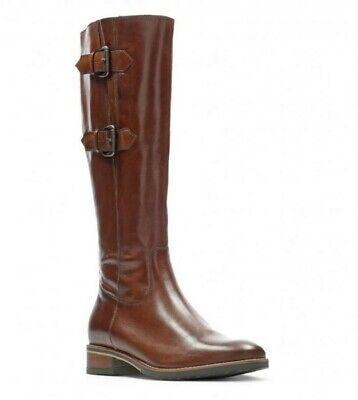 adjetivo Cerveza Treinta  Clarks Ladies Knee-High Boots TAMRO SPICE Tan Leather UK 4/37 D   eBay