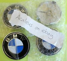 BMW E34 Hub Cap 4x wheel Centre 68mm wheels