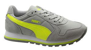 cb590d3e La imagen se está cargando Puma-St-Runner-Nl-Zapatillas-Junior-Zapatos-con-