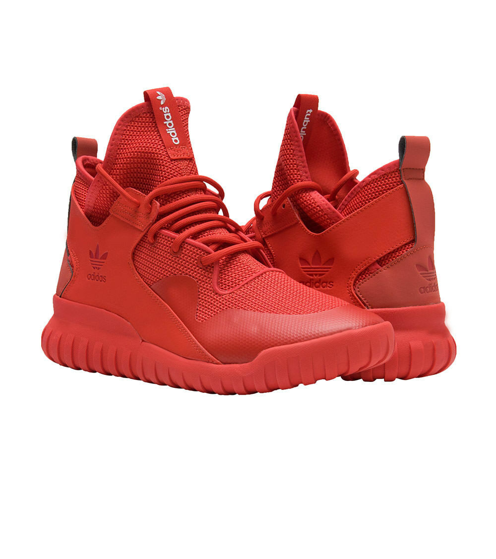 Adidas Tubular X Octobers Yeezy Boost Triple Red Octobers X [AQ5452] Mens Size 10 DS 5ba552