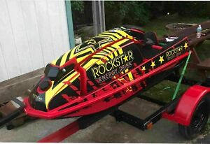 Kawasaki 550 Sx Js 300 400 440 Jet Ski Wrap Graphics Pwc Stand Up Jetski Decal 1 Ebay