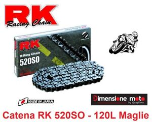 Catena-Made-in-Japan-034-RK-034-520SO-O-Ring-120L-per-KAWASAKI-GPZ-500-S-dal-1994-gt-2005