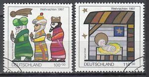 BRD 1997 Mi. Nr. 1959-1960 Gestempelt LUXUS!!!