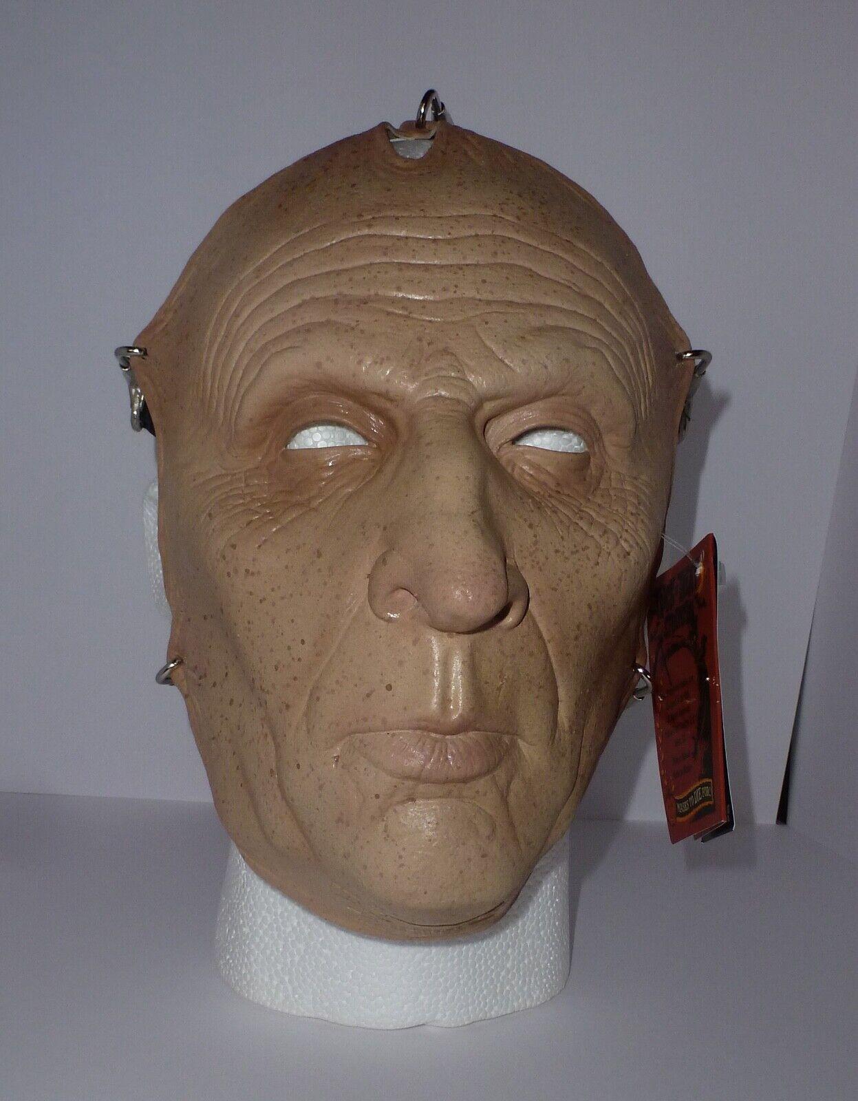 Trick or Treat Studios SAW JIG Saw Flesh Latex Face Mask