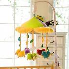 White Baby Rotary Mobile Clockwork Movement Music Box Crib DIY Bedding Toy Kids