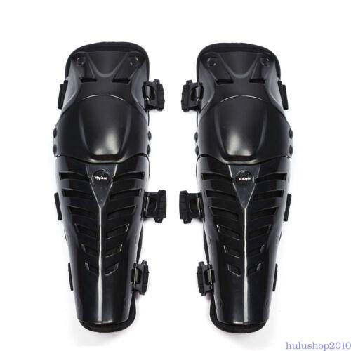 Adults Leg Knee Shin Armor Protector Guard Pads for Motorcycle Motocross Racing
