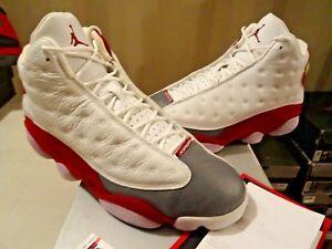 fe25c1f51 2005 Nike Air Jordan XIII 13 Retro TEAM RED FLINT GREY TOE 310004 ...