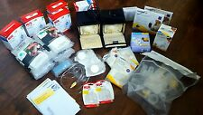 Medela Pump In Style Advanced Lot of TWO Breast Pumps + Accessories