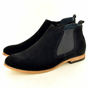 Men's Casual Faux Suede Chukka Desert Ankle Chelsea Boots Shoes In UK Size 6-12