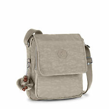 Kipling NETTA Across Body/Shoulder/Messenger Bag WARM GREY (Beige) RRP £74