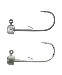 Details about Owner Block Head Jig Head - Ned Rig Jig Head for Bass, Trout,  & Walleye Fishing