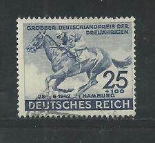 NAZI GERMANY # B204 Used 73rd HAMBURG DERBY, HORSE RACING