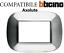 miniatura 21 - PLACCHE COMPATIBILI BTICINO AXOLUTE 3 4 6 MODULI POSTI