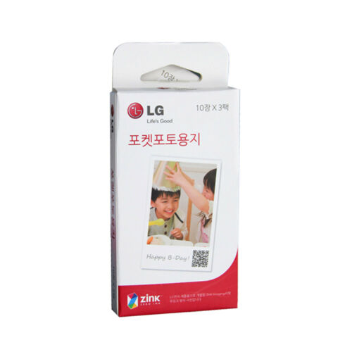 LG Pocket Photo PoPo Zink 30 Sheets Paper for PD239 PD221 PD251 PD261 PD269