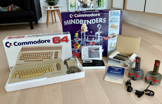 Commodore 64, arkademaskine, God, Fantastisk og…