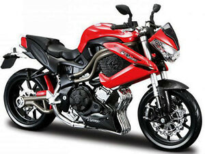 Maisto 31195 Benelli Tornado Naked Tre R160 Bike 1 12 Black Red