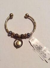 39 Lucky Brand Orbital Charm Cuff Bracelet F 49