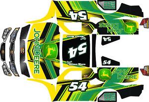 BIG FLEX Losi 5iveT 5t HPI hoonage rovan  wrap decals stickers rc wrap motul