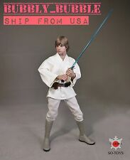 1/6 STAR WARS Luke Skywalker Head Sculpt Clothing Set ☆IN STOCK☆ SHIP FROM USA