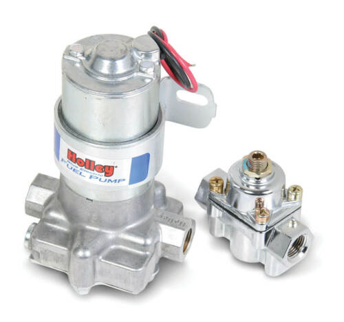 Holley 12-802-1 110 GPH Blue® Electric Fuel Pump With Regulator