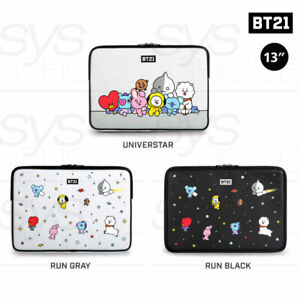 BTS-BT21-Official-Authentic-Goods-13-034-PU-Laptop-Sleeve-3TYPE-Tracking-Number