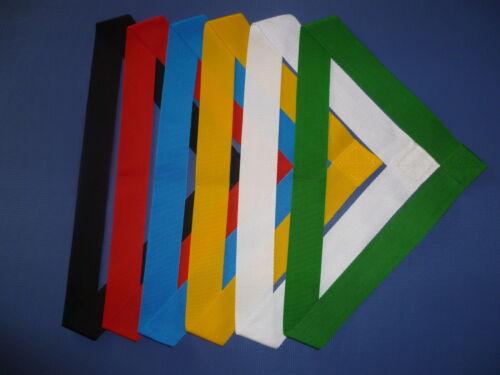 Mannschaftsbänder,Teambänder in 6 Farben 90 cm* Parteibänder 40 x Bandschärpen